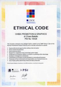 Codice Etico Chiba