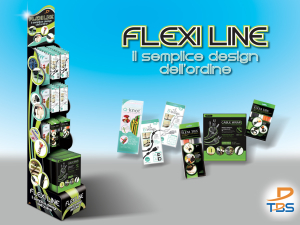Tbs Flexiline display