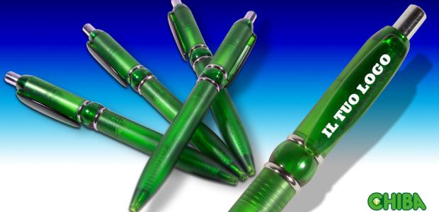 Penne verdi personalizzate