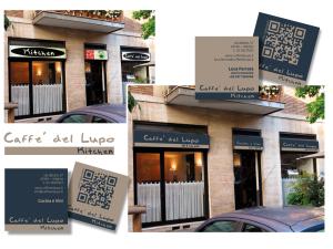 Caffè del Lupo Kitchen brand identity