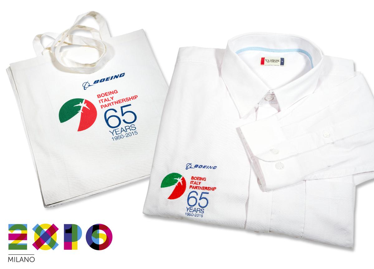 Boeing Camicia e Shopper per Expo 2015