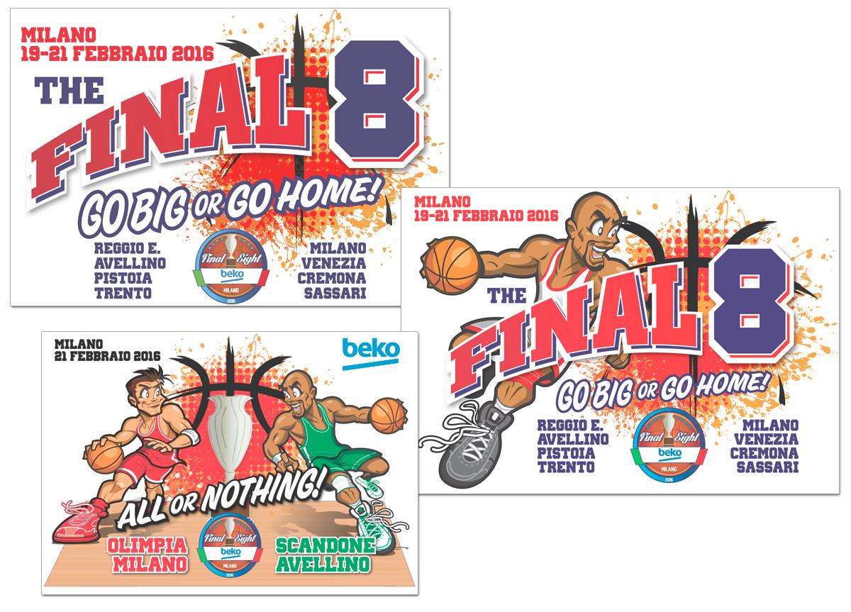 Final Eight Basket - Grafica