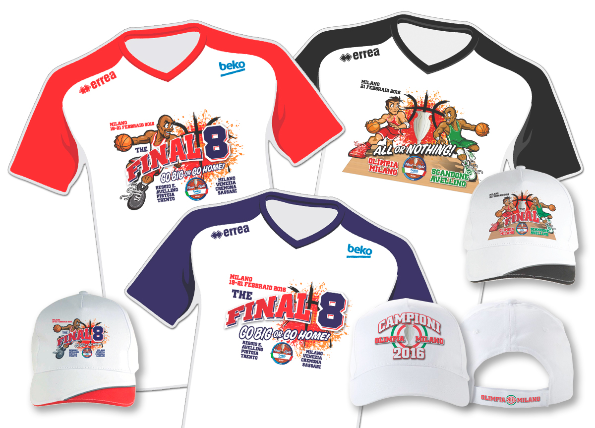 Final Eight Basket - Merchandising
