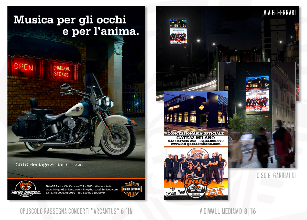 Gate32 Milano - Advertising