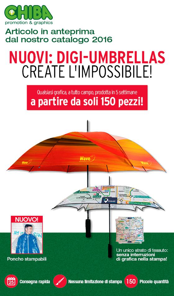 Digi Umbrellas - Ombrelli personalizzabili