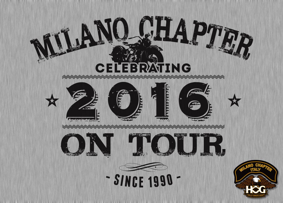 T-Shirt Milano Chapter Harley-Davidson Gate32 Milano