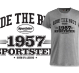 Sportster Town & Sporty Meeting merchandise