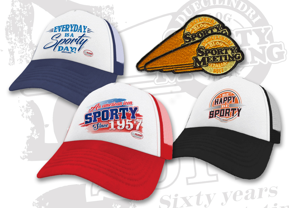 Sporty Meeting Caps e Patch