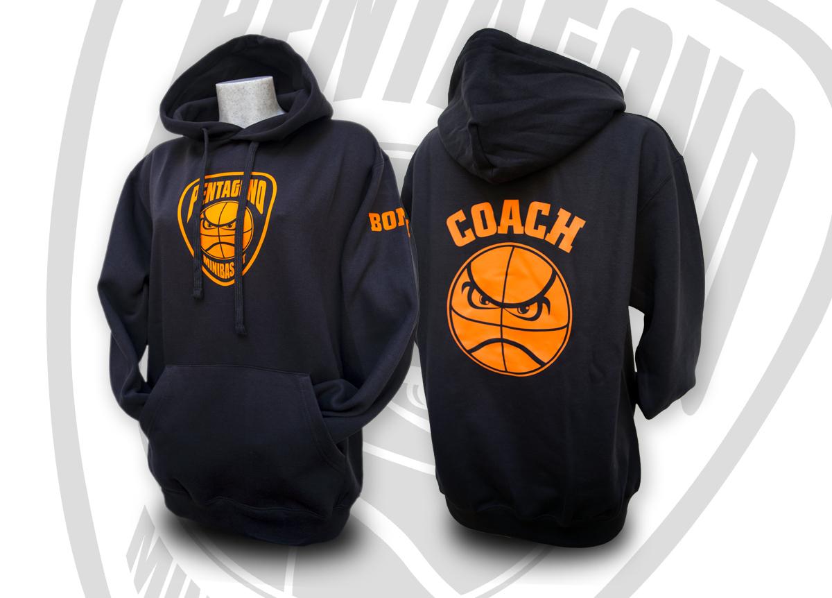 Pentagono-Basket Milano Felpa
