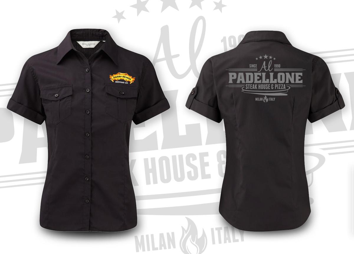 Al Padellone - Shirt divisa personale donna