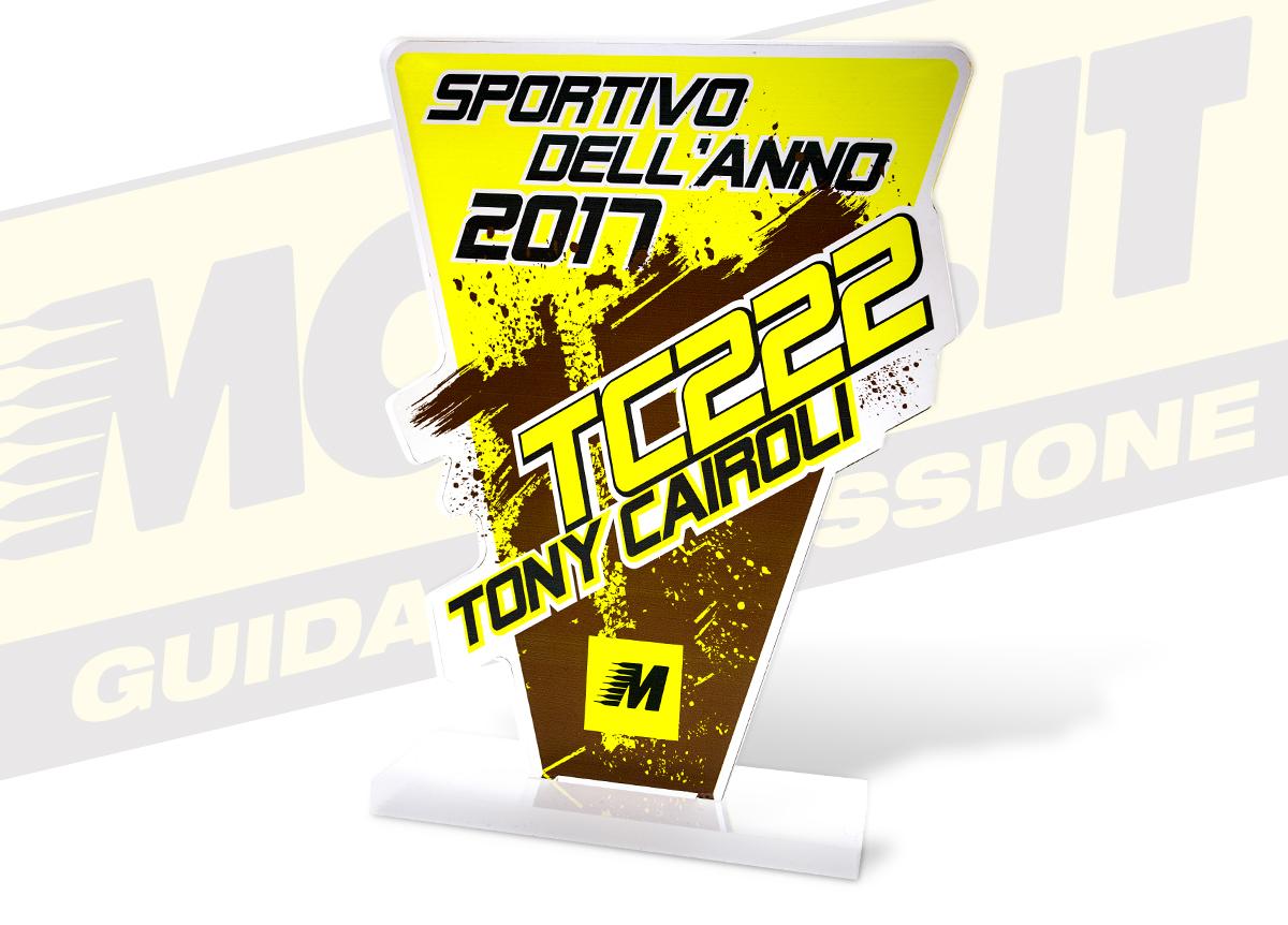 Trofeo MotoIt per Tony Cairoli