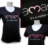 T-Shirt Amami con strass