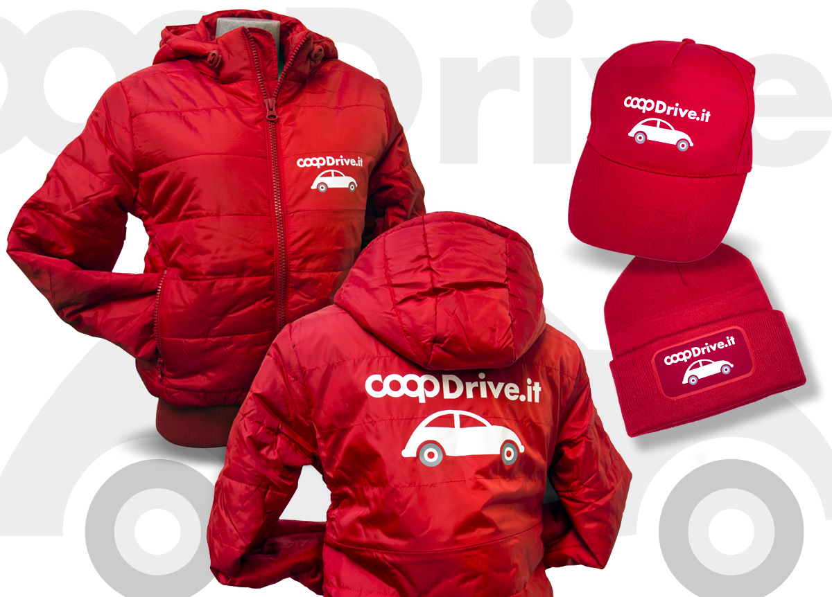 Coop Drive Piumino e Cappellini