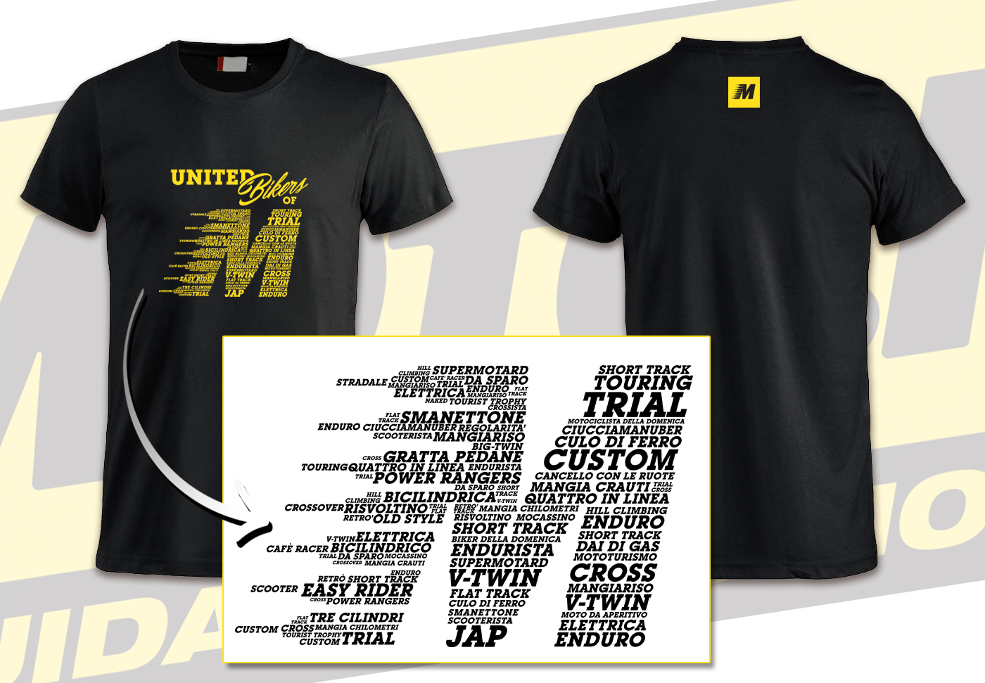 Chiba Promotion And Graphics MotoIt-T-Shirt