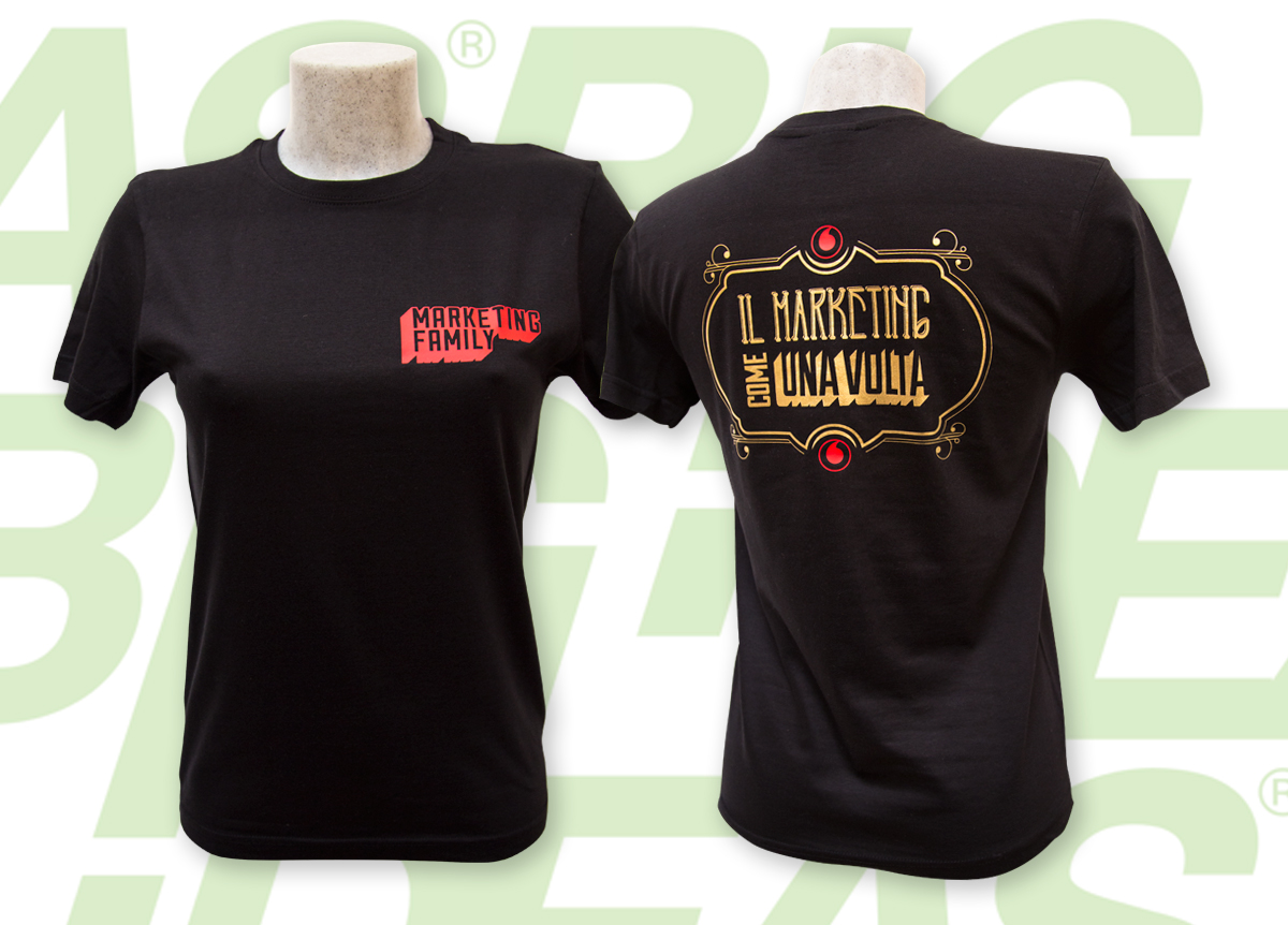 T-Shirt Vodafone Marketing Family