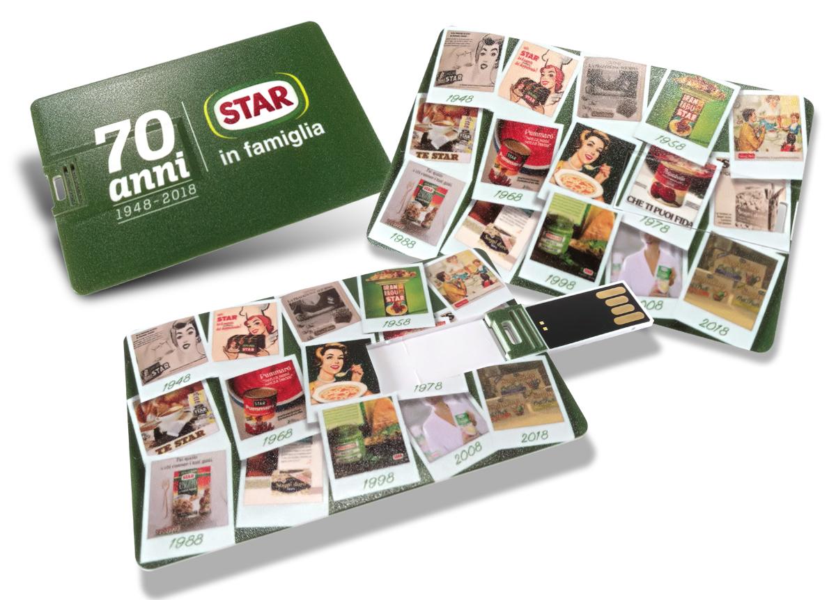 Star USB Card