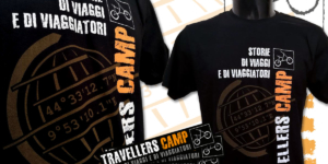 Travellers Camp T-Shirt & Stickers